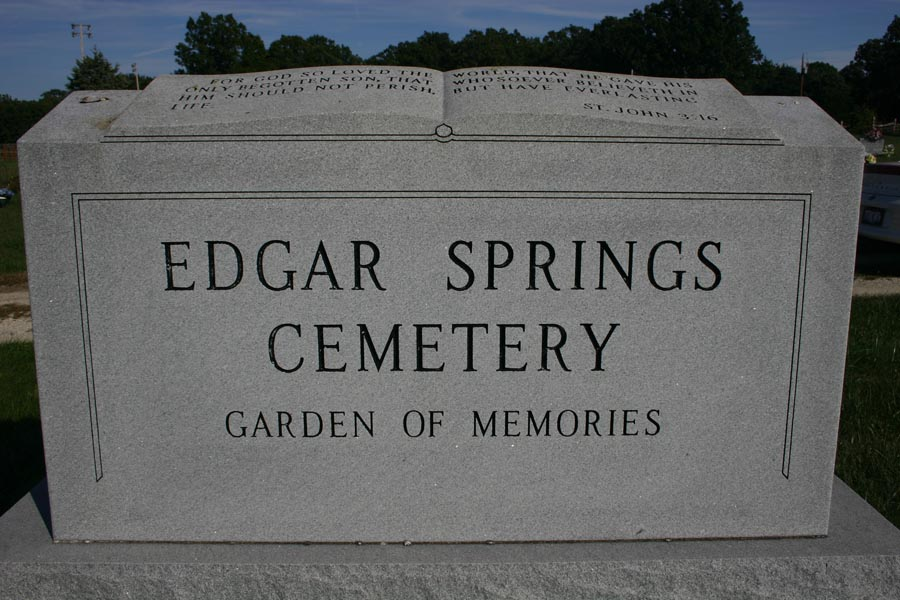 Edgar Springs Cemetery